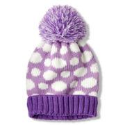 Toby Dot Knit Hat - Girls 6-16