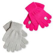 Toby 2-pc. Jewel Gloves Set - Girls 6-16
