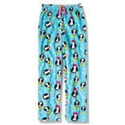 Total Girl® Penguin Fleece Sleep Pants - Girls 4-20