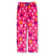 Total Girl® Pink Star Fleece Sleep Pants - Girls 4-20