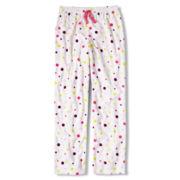 Total Girl® Multi Dot Fleece Sleep Pants - Girls 4-20