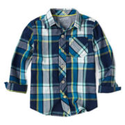 Arizona Long-Sleeve Woven Shirt – Boys 2t-6
