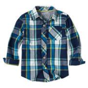 Arizona Long-Sleeve Woven Shirt – Boys 2t-6
