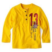 Arizona Long-Sleeve Fashion Henley – Boys 2t-6