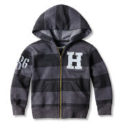 Arizona Zip-Front Striped Hoodie – Boys 2t-6