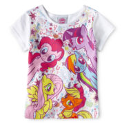 My Little Pony Graphic Tee - Girls 2t-4t
