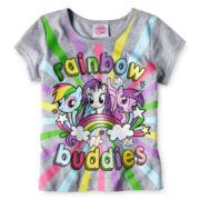 My Little Pony Rainbow Tee - Girls 2t-4t