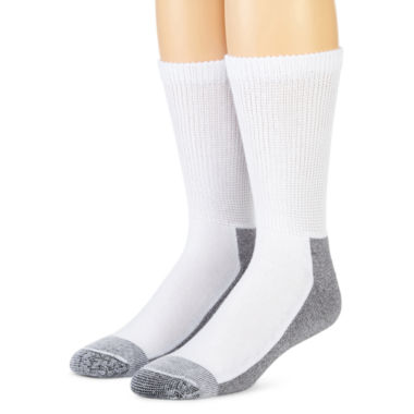 jcpenney.com | Dickies® 2-pk. Non-Binding Steel Toe Crew Socks