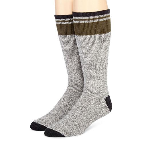 Dickies® 2-pk. Thermal-Striped Boot Socks