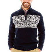 Dockers® Quarter-Zip Holiday Sweater