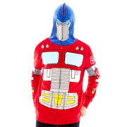 Optimus Prime Costume Fleece Hoodie