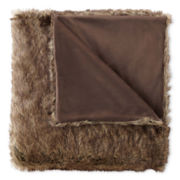 Royal Velvet® Faux Fur Throw