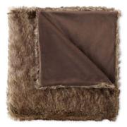 Royal Velvet® Faux Fur Throw
