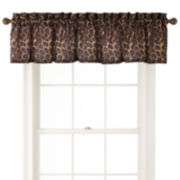 Home Expressions™ Safari Leopard Valance