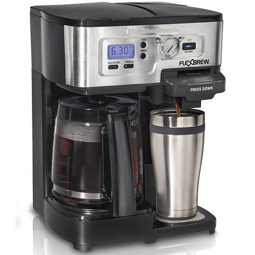Hamilton Beach® 2-Way FlexBrew® Programmable Coffee Maker