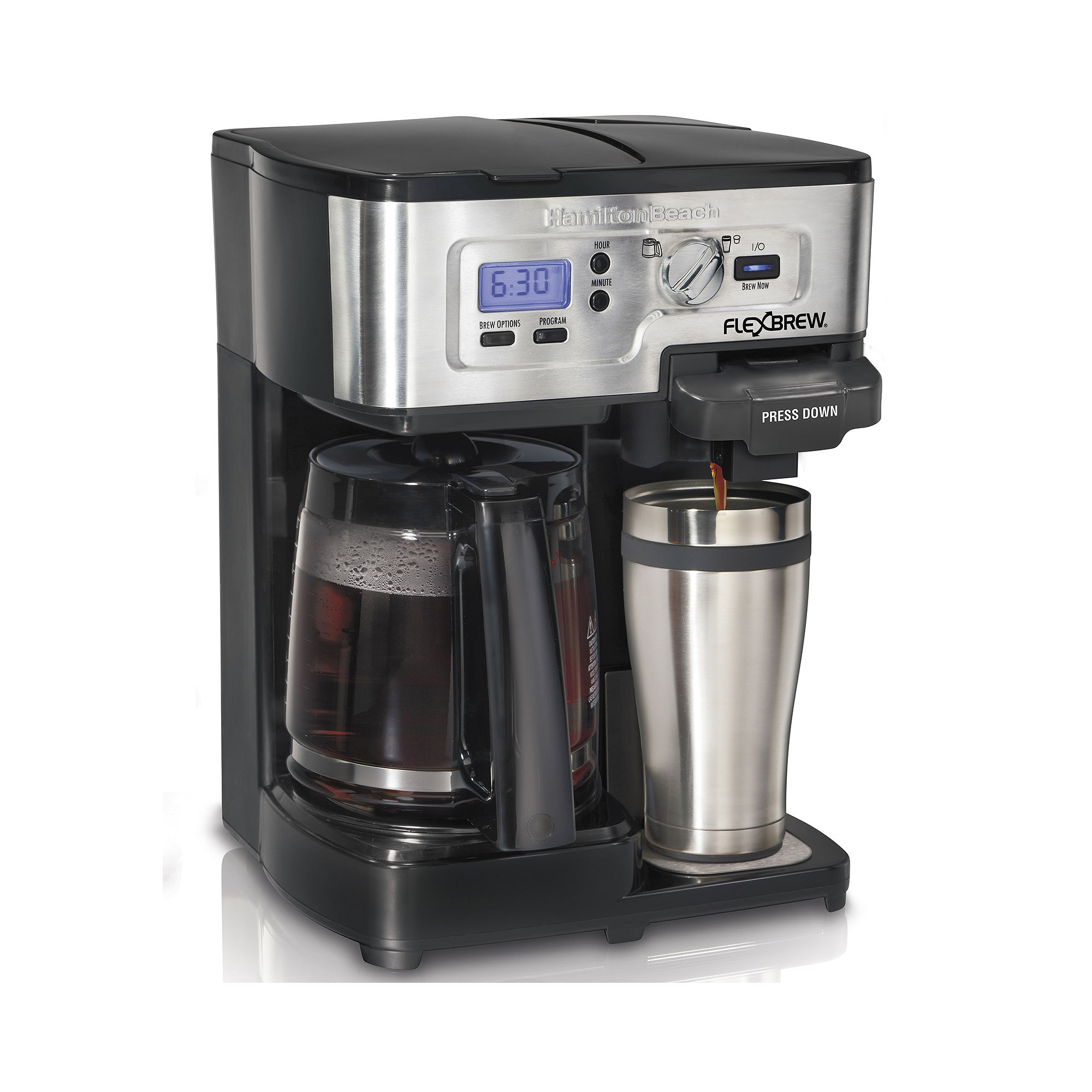Coffee Maker Jcpenney : JCPenney Coupons for Hamilton Beach 2-Way FlexBrew Programmable Coffee Maker