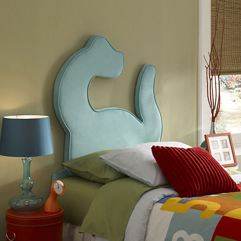 Dinosaur Twin Headboard