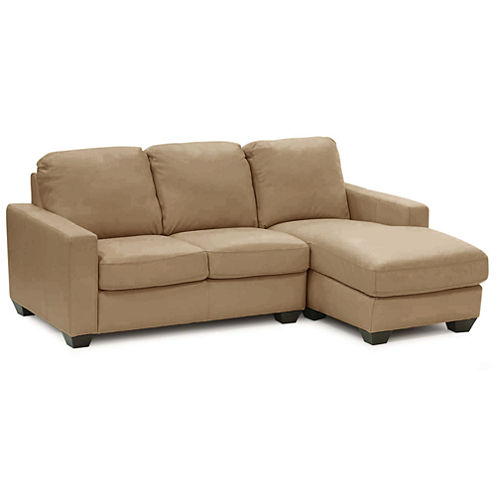 Leather Possibilities Track-Arm 2-pc. Right-Arm Sectional