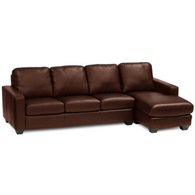 jcpenney.com | Leather Possibilities 2-pc. Left-Arm Sofa/Chaise Sectional