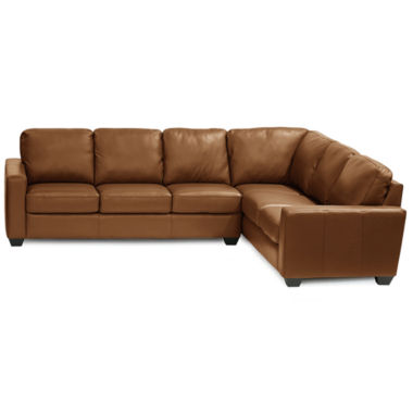 jcpenney.com | Leather Possibilities 2-pc. Right-Arm Corner Sofa Sectional