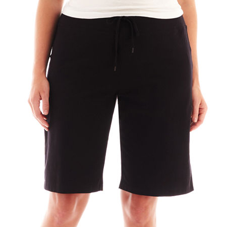 Spalding Knit Bermuda Shorts - Plus
