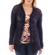 Arizona Hooded Cardigan - Plus