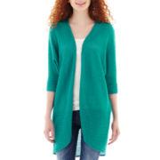 Decree® 3/4-Sleeve Cardigan