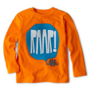 Okie Dokie® Long-Sleeve Graphic Tee - Boys 2y-6y
