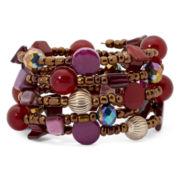 Mixit™ Berry Beaded Coil Bracelet