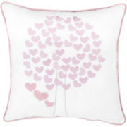 Frank and Lulu Heartwood Forest Square Decorative Pillow