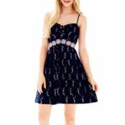 My Michelle® Sleeveless Embellished Lace Dress