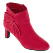 east 5th® Nettie Ruched Ankle Boots