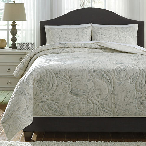 Signature Design by Ashley Darcila 3-pc. Coverlet Set