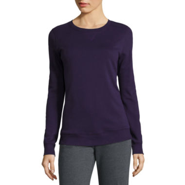 jcpenney.com | Made for Life™ Long-Sleeve Fleece Top - Tall