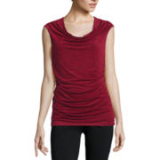 Alyx® Sleeveless Drape-Neck Knit Top