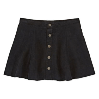 jcpenney.com | Arizona Faux-Suede Button-Front Skirt - Girls Plus