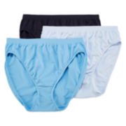 Jockey® Comfies® 3-pk. French-Cut Panties - 3326