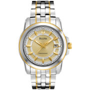 Bulova® Precisionist Two-Tone Watch 98B156