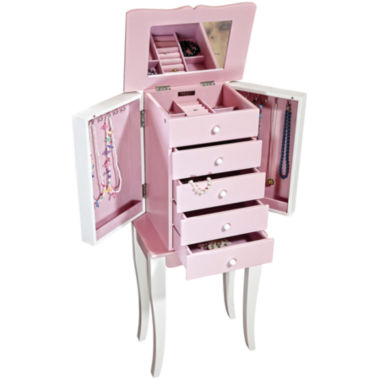 jcpenney.com | Pink and White Armoire