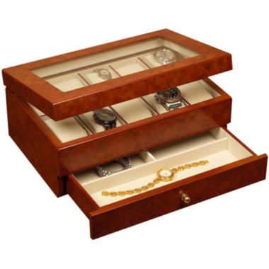 jcpenney.com | Oak Finish Watch Box
