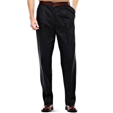 jcpenney.com | IZOD® Wrinkle–Resistant Pleated Twill Pants–Big & Tall