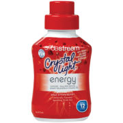 SodaStream™ Crystal Light Strawberry Energy Flavored Drink Mix