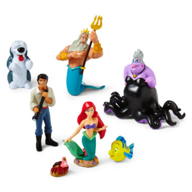 jcpenney.com | Disney Collection Ariel 7-pc. Figure Set