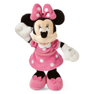 jcpenney.com | Disney Collection Pink Minnie Mouse Mini Plush