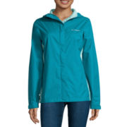Columbia® Grey Skies™ Long-Sleeve Waterproof Rain Jacket