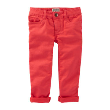 jcpenney.com | OshKosh B'Gosh® Skinny Stretch Twill Pants - Preschool Girls 4-6x