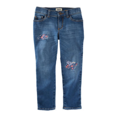 jcpenney.com | OshKosh B'Gosh® Rip-and-Repair Tomboy Jeans - Preschool Girls 4-6x