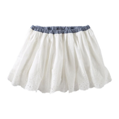 jcpenney.com | OshKosh B'Gosh® Woven Eyelet Skirt - Preschool Girls 4-6x