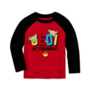 Star Wars™ Long-Sleeve Jedi Raglan Tee - Toddler Boys 2t-5t