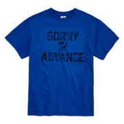 Short-Sleeve Sorry In Advance Tee - Boys